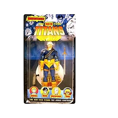 DC Direct Teen Titans Series 2 Action Figure Unmasked Deathstroke: Toys & Games