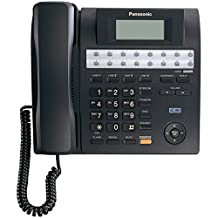 PANASONIC KXTS4100B 4-Line Integrated Phone-System Expandable up to 16 Stations with Speakerphone, Black