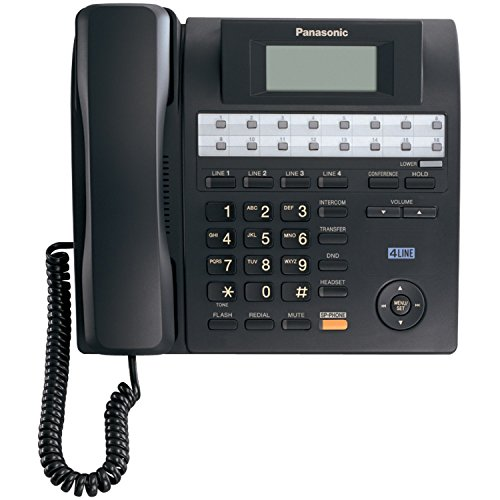 Panasonic KX-TS4100B 4-Line Integrated Phone System expandable up to 16 stations with - Phone Integrated System