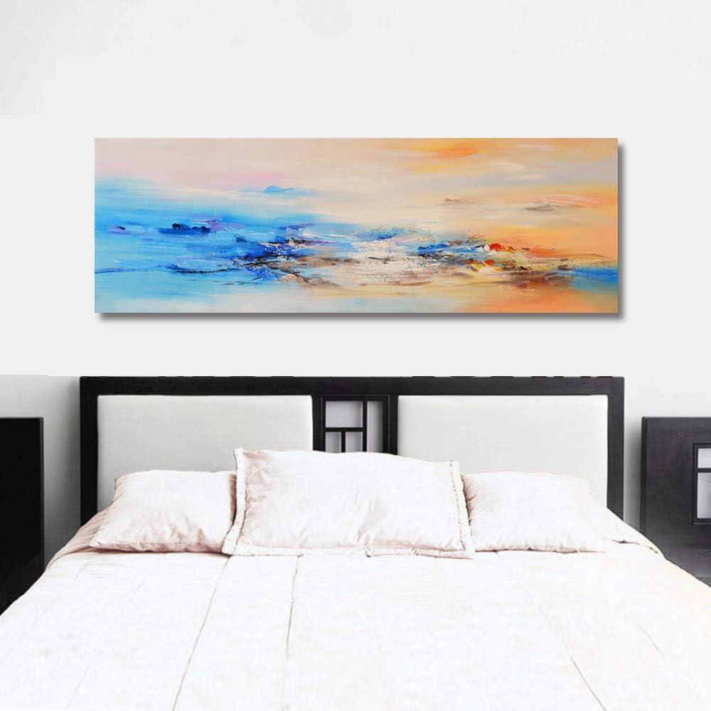 Fajerminart Cuadro En Lienzo - Nubes Colores Cuadros Abstractos Impresiones Sobre Lienzo, Lienzos Decorativos Adecuado Para Cuadros Dormitorios, ...