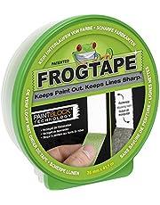 Frogtape Afplakband – Schildersreppband Met Paint-Block Technologie Crêpband, Voor Schone Randen, Bij Schilderen En Lakken, 36 mm x 41 m, Groen
