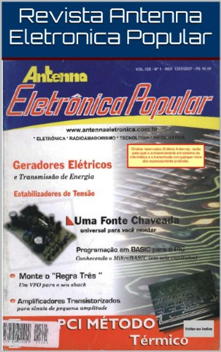 Revista Antenna Eletronica Popular: ANEP Ref.: 1205/2007 ...