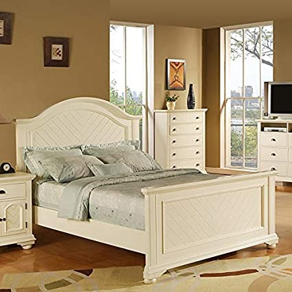 Amazon.com: Picket House Furnishings Addison White Queen ...