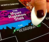 Scratch off all your travels with Explore It! Maps! Use the included scratch off tool to remove the black foil over the states you've visited to reveal the nickname and beautiful image that associates with the state! This map will fit any sta...