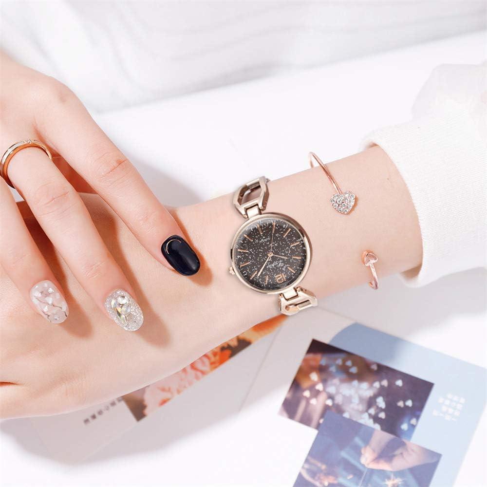 Orologio da donna Nuove donne calde vendita orologio al quarzo moda classica braccialetto donna orologio tendenza lega donna orologio orologio all\'ingrosso Nero