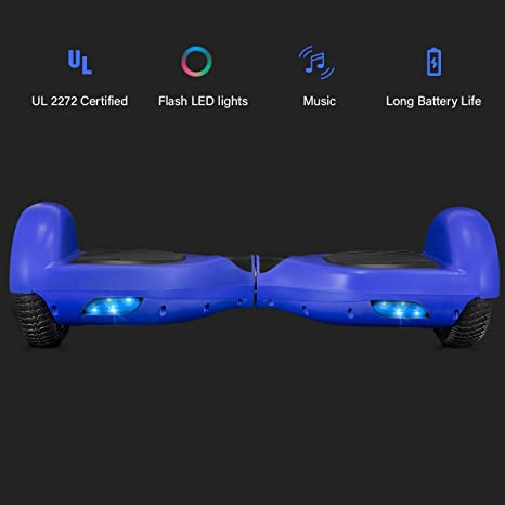 Amazon.com: ROCKETX Hoverboard with Bluetooth Speaker LED ...
