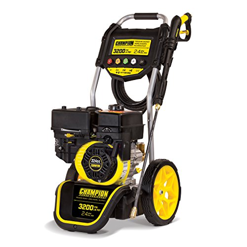 Champion 3200-PSI 2.4-GPM Dolly-Style Gas Pressure Washer