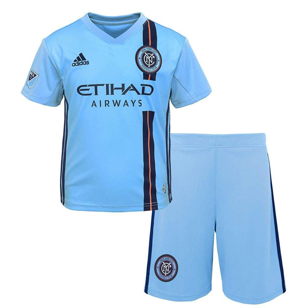 new product 8c033 7206b Amazon.com : Outerstuff Toddler New York City FC Soccer Kit ...