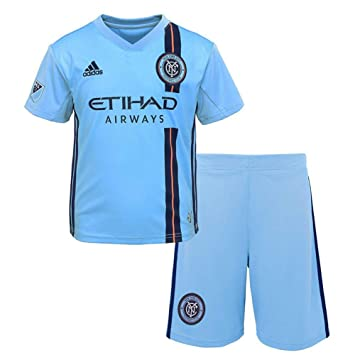 new product ff4cb a0940 Amazon.com : Outerstuff Toddler New York City FC Soccer Kit ...