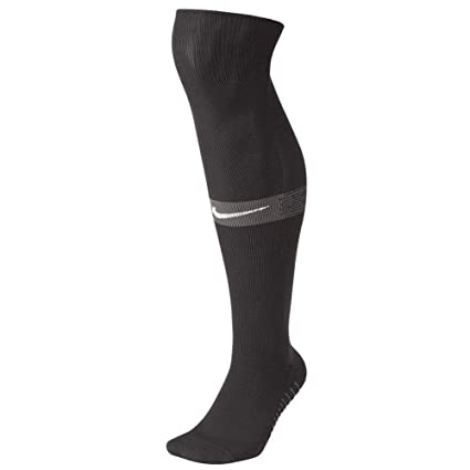b0b723b84 Amazon.com : NIKE Squad Over The Calf Sock (Black/Grey) Size Large ...