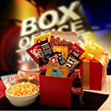 Movies For Two Care Package $10.00 Gift Card Gift Box