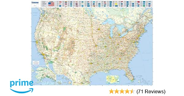 Michelin Map USA Road 12761 (p, Rolled) (Maps/Wall (Michelin ...