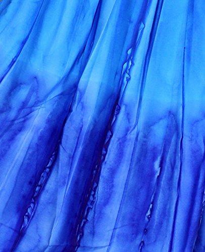 Bikini Falda Verano Encubrir Mujer Likre LEELA Halloween Ligera Maxi Todo baño la días Fiesta Azul Costume Bandeau Ocasionales Vestido i924 Vestido Prom Playa Noche en LA túnica Ropa a1UwRqq
