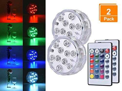 10w Outdoor 12v Rgb 16 Colors Led Underwater Fountain Light Swimming Pool Pond Fish Tank Aquarium Led Light Lamp Ip68 Waterproof To Suit The PeopleS Convenience Lights & Lighting