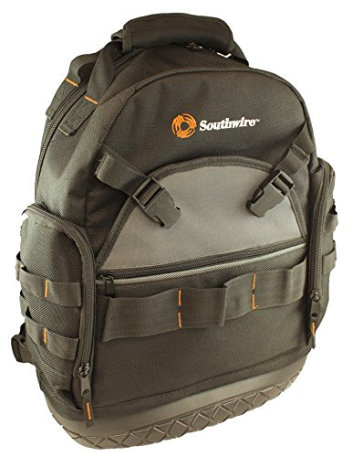 Southwire Tools & Equipment BAGBP Tool Bag Backpack, Great Father's Day Gift