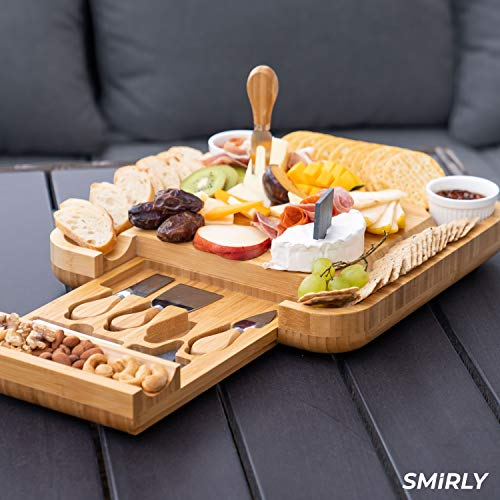 Save 48% off a cheese board and knife set