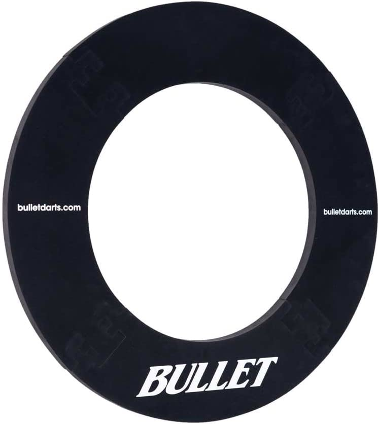 hochwertige Umrandung Wandschutz f/ür das Dartboard BULLET-Darts Surround Ring f/ür alle g/änigen Dartscheiben