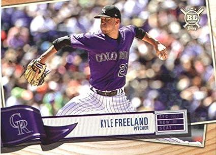 06afbcbe9 2019 Topps Big League #302 Kyle Freeland Colorado Rockies Baseball Card