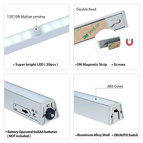 Battery Powered Under Cabinet Led Strip Lighting