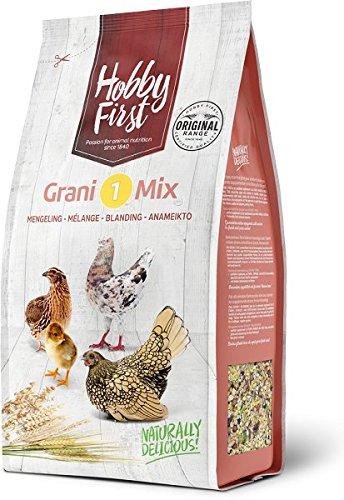 4kg Hobby First grani 1Mix Natural Granen