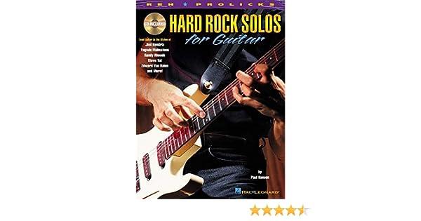 Hard Rock Solos for Guitar: Amazon.es: Hanson, Paul: Libros en ...