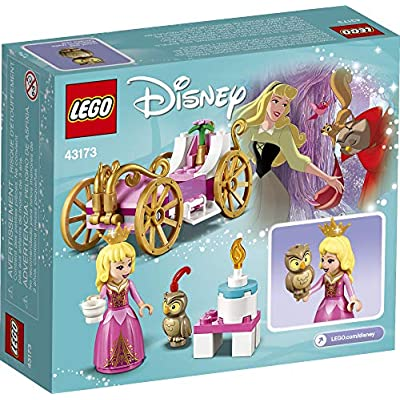 LEGO Disney Aurora's Royal Carriage 43173 Creative Princess Building Kit, New 2020 (62 Pieces): Toys & Games