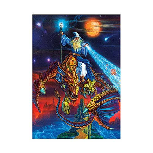 Wizard 2 Embroidery - DIY 5D Diamond Painting for Adults - Wizard, Full Drill Diamond Embroidery Paintings for Home Wall Decor