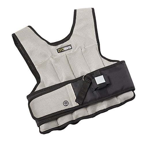 ZFOsports® - 20LBS -UNISEX- Comfortable Exercise Adjustable Weighted Vest by ZFOsports