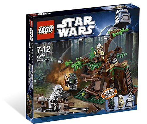 LEGO Star Wars Ewok Attack 7956 (Lego Star Wars Ewok Sets)