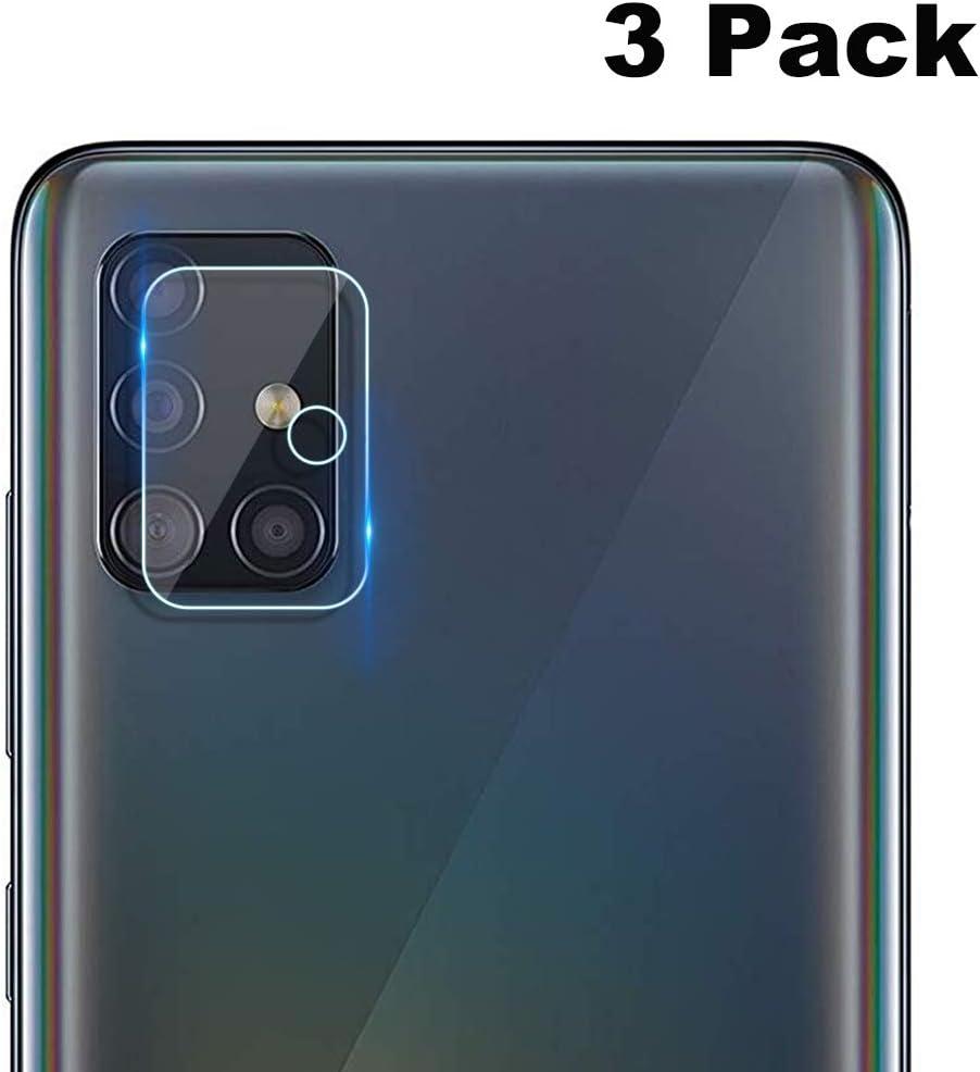NOKOER Protector Cámara para Samsung Galaxy A51, [3 Pack] Protector de Pantalla Cámara, 2.5D Película de Protección de Vidrio Templado Resistente a Los Arañazos: Amazon.es: Electrónica