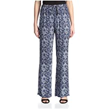 James & Erin Women's Printed Drawstring Pant