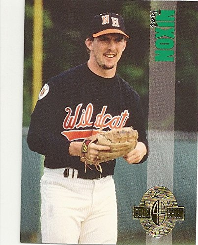 (1993 FOUR SPORT CLASSIC COLLECTION TROT NIXON BASEBALL TRADING CARD #308 (NH WILDCATS) - FREE SHIPPING)