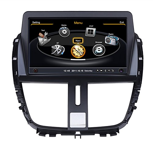 rupse for 2009 2010 2011 2012 2013 peugeot 207 car dvd gps navigation with dual core 3zone pop. Black Bedroom Furniture Sets. Home Design Ideas