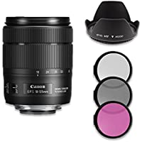 Canon EF-S 18-135mm f/3.5-5.6 IS USM Lens Kit (White Box)