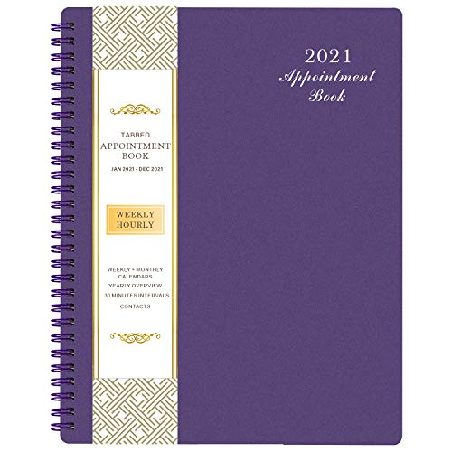 Teal Green Appointment Book