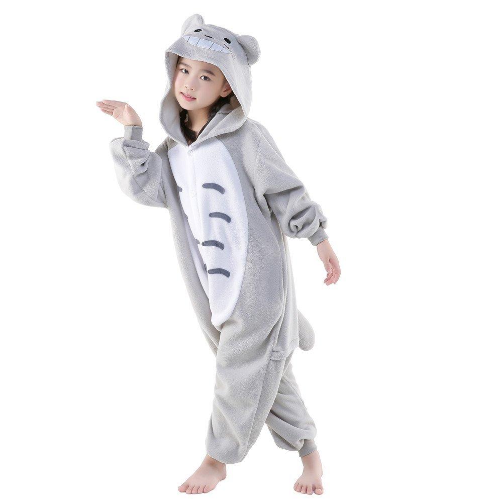 NEWCOSPLAY Kids Plush One Piece Cosplay Onesies Costume