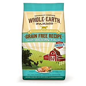 5. Whole Earth Farms Grain Free Recipe Dry for Cat