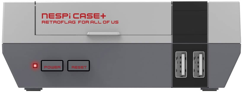 Retroflag Raspberry pi case NESPi Case Plus with Safe Shutdown for Raspberry Pi 3 B+ (B Plus)