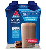 Atkins Plus Protein-Packed Shake, Chocolate, 12 Count