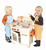 Hape Gourmet Kitchen Kid's Wooden Play Kitchen in White (Discontinued by Manufacturer)