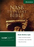 NASB Thinline Bible, Zondervan Publishing Staff, 0310916631