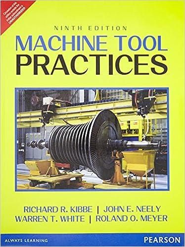 Machine Tools Practice White Meyer Curran Stenerson Kibbe