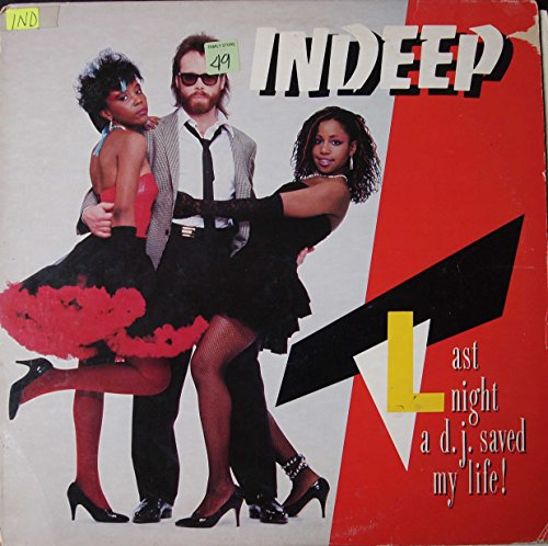 Indeep - Last Night A Dj Saved My Life [vinyl 12