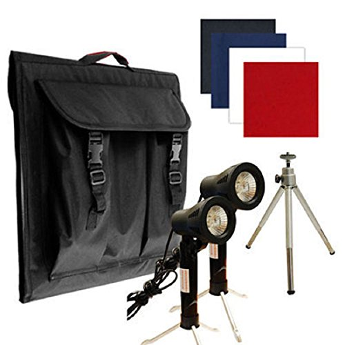 Deluxe Table Top Photo Studio Photo Light Lighting Tent Kit