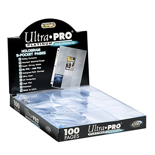 Ultra Pro Platinum Series Hologram 9 Pocket Pages  25