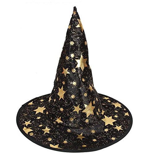 Girl Indiana Jones Costume (Ussore 1Pcs Monolayer Adult Womens Witch Hat For Halloween Costume Accessory (A))