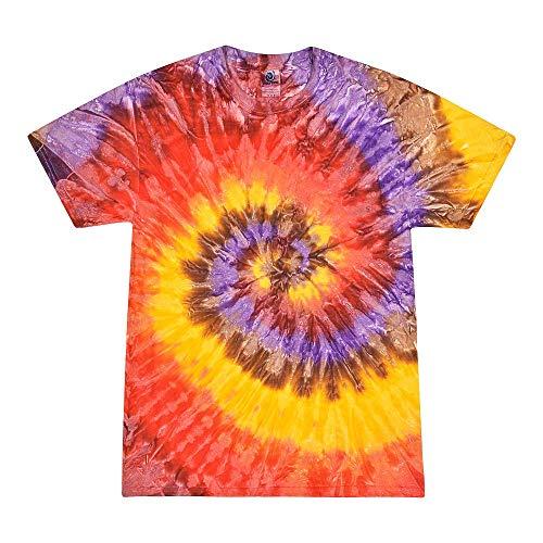 Colortone Tie Dye T-Shirt XL Festival ()