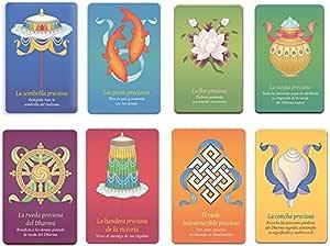Editorial Tharpa Colección de 8 láminas budistas con los 8