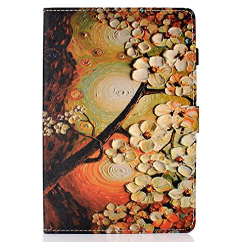 Folding Pattern Inch Cover Bookstyle Graffiti Magnetic Case SM Sleep for Galaxy PU LMFULM Auto Tab Samsung Ultra T830 Thin Leather T837 5 Function of Wake Closure 10 S4 11 Color an With Leather T835 wH7g4q