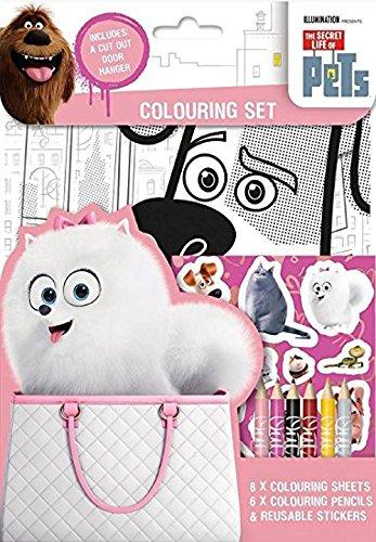 Anker Secret Life Of Pets Colouring Set SECST